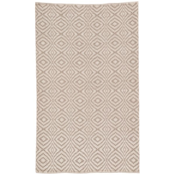 Handwoven Flatweave Taupe Indoor/Outdoor Area Rug by Williston Forge