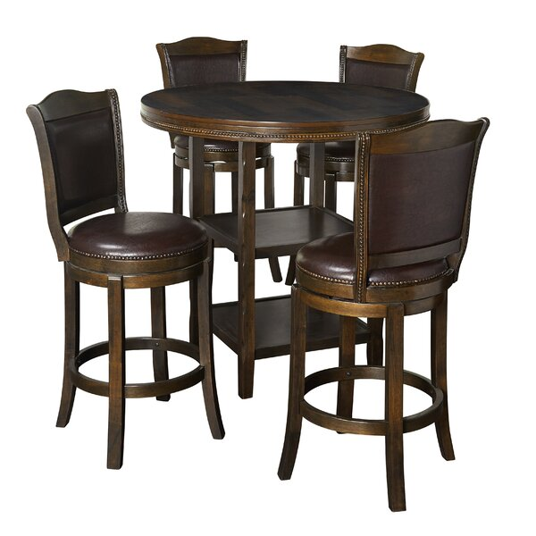 Strang 5 Piece Pub Table Set By Darby Home Co Herry Up