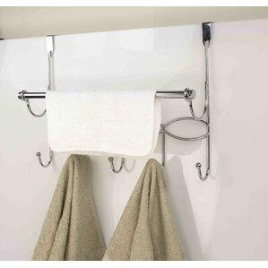 Hook Over The Door Towel Bar