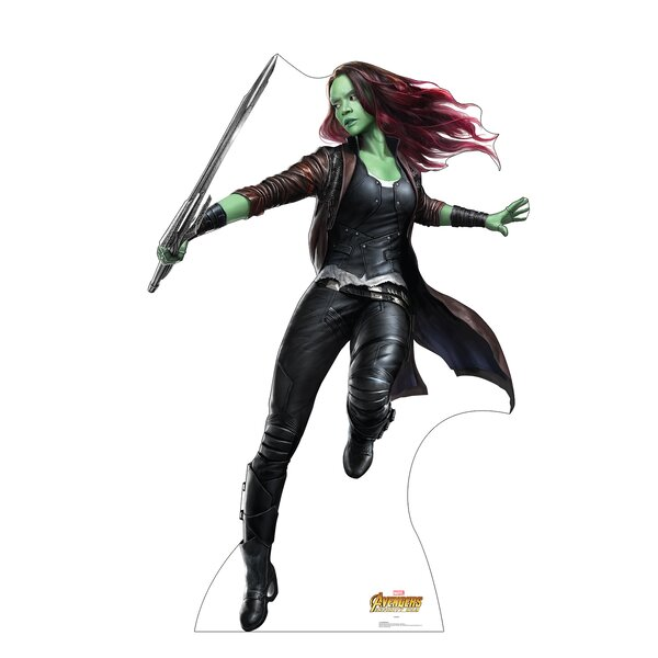 Avengers Infinity War Gamora Standup by Advanced Graphics