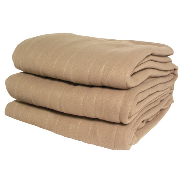 Millie Heated Knit Blanket by August Grove