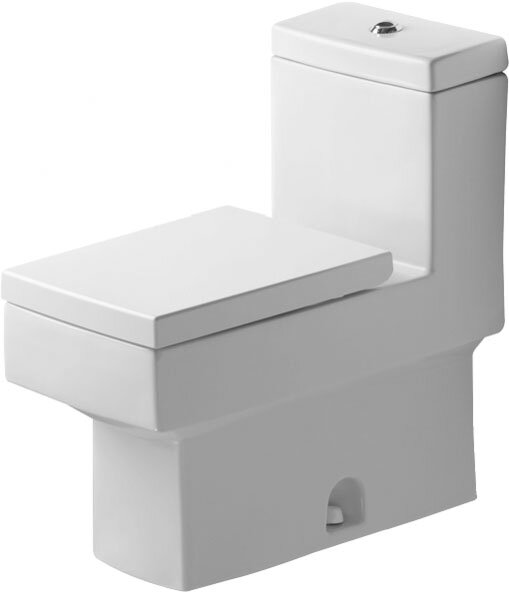 Vero 1.28 GPF (Water Efficient) Elongated One-Piece Toilet (Seat Not Included) by Duravit