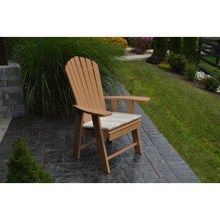 Upright Plastic Adirondack Chair byA&L Furniture