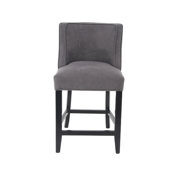 Aahil Eclectic 25 Bar Stool By Alcott Hill ★ Footstool Or