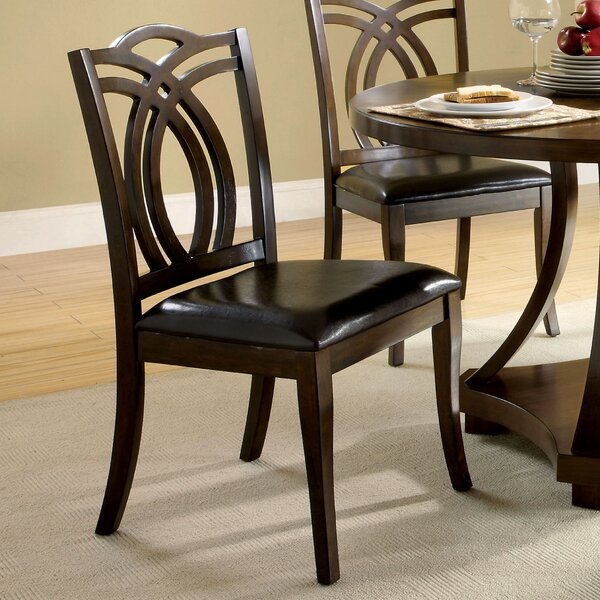 Kirklin Upholstered Dining Chair (Set of 2) by Three Posts