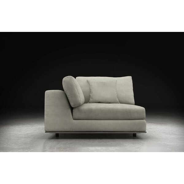 Syd  Right Hand Facing Modular Sectional with Ottoman by Orren Ellis