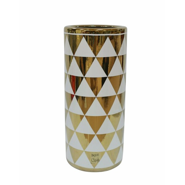 Karratha Durable Ceramic Umbrella Stand by Mercer41