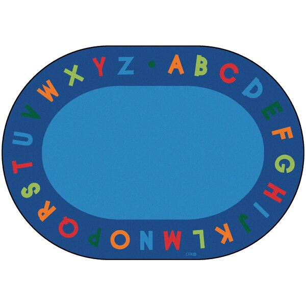 Emilion Alphabet Primary Area Rug by Zoomie Kids
