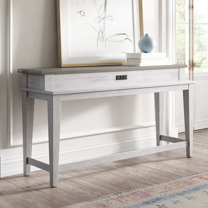 """Marion 68"""" Console Table - you're going to love these furniture and decor pieces Kelly curated for Wayfair! #furniture #frenchcountry #kellyclarksonhome #consoletables"""