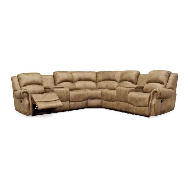 #1 Roudebush Reclining Sectional By Red Barrel Studio Read Reviews