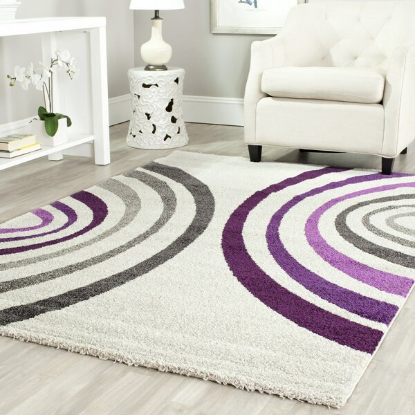 Nanette Creme Area Rug by Zipcode Design