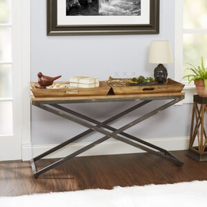 Alewife Industrial Console Table by Tr..