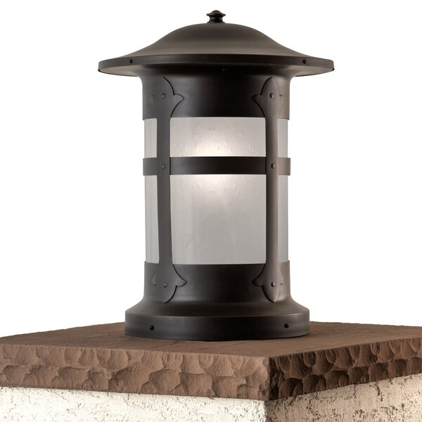 Milo Charming Column Pier Mount Light by Alcott Hill