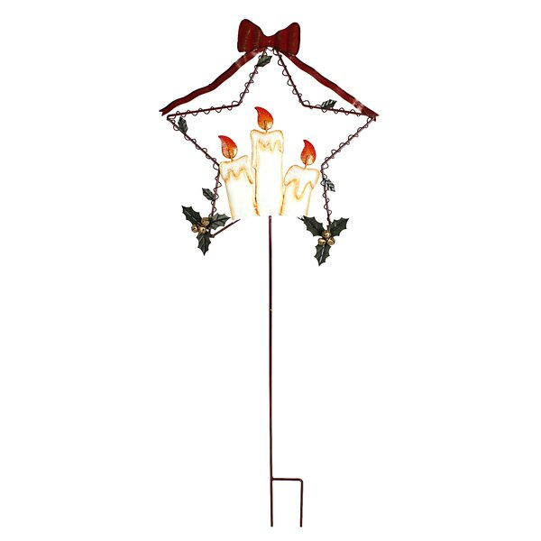 Holiday Flames Garden Stake by Attraction Design Home