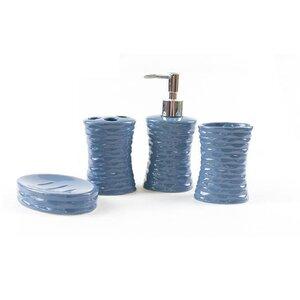 Tous accessoires salle de bain: Finition - Bleu | Wayfair.ca