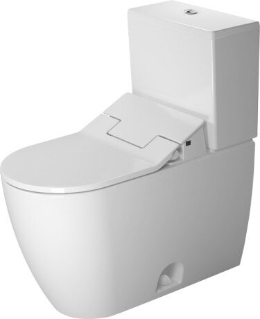 Me by Starck 1.28 GPF (Water Efficient) Elongated Two-Piece Toilet (Seat Not Included) by Duravit