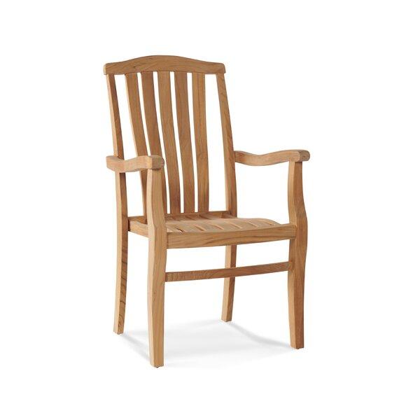 SH Stacking Teak Patio Dining Chair (Set of 4) by HiTeak Furniture
