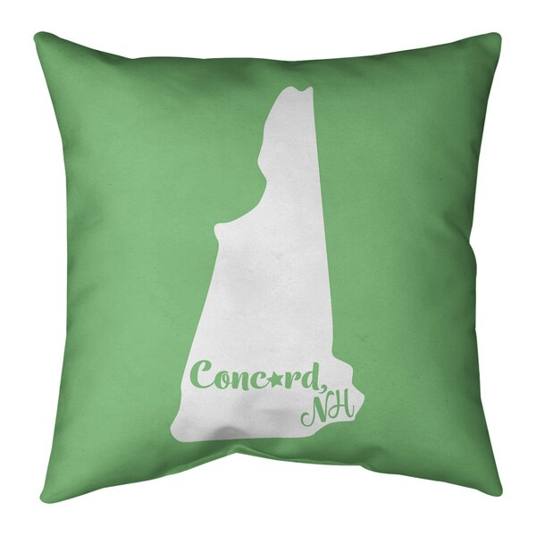 New Hampshire Indoor/Outdoor Throw Pillow