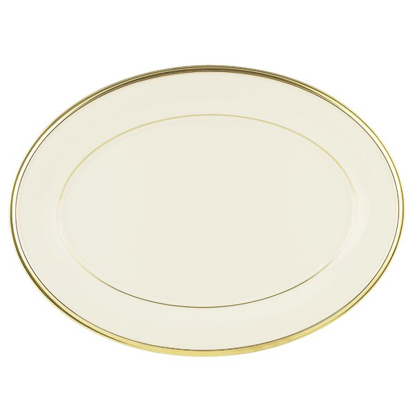 Eternal Oval Platter by Lenox
