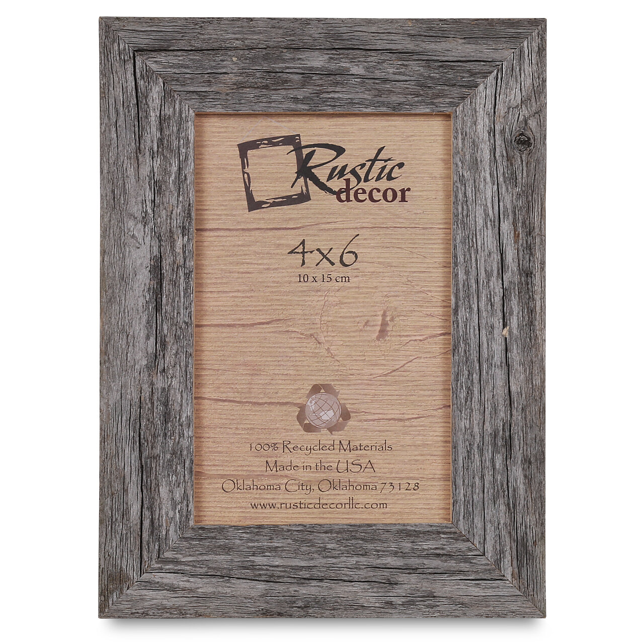 Union rustic burham barn wood reclaimed standard picture frame union rustic burham barn wood reclaimed standard picture frame reviews wayfair jeuxipadfo Choice Image