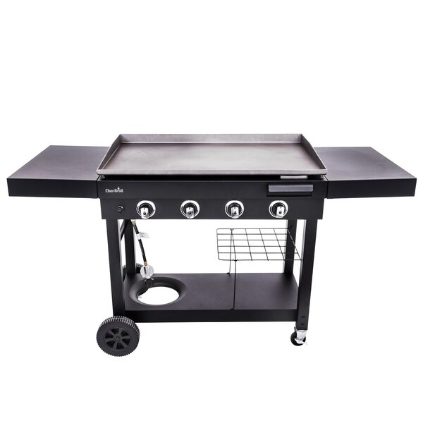 4-Burner Flat Top Propane Gas Griddle by Char-Broi