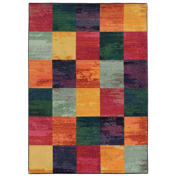 Expressions Geometric Area Rug by Pantone Universe