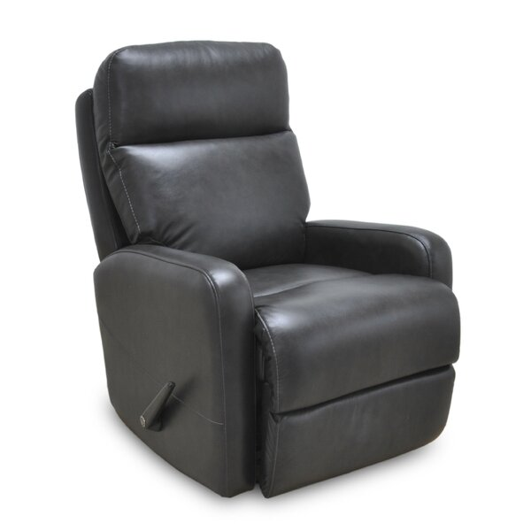 Sayli Leather Manual Rocker Recliner by Red Barrel Studio