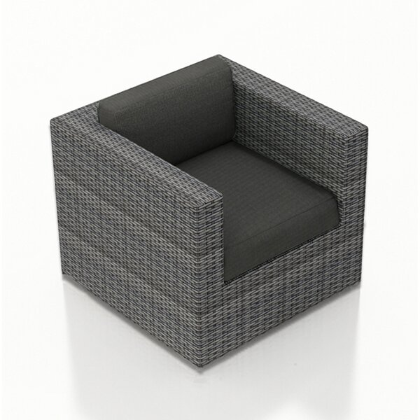 Hobbs Swivel Glider Patio Chair with Cushion by Rosecliff Heights