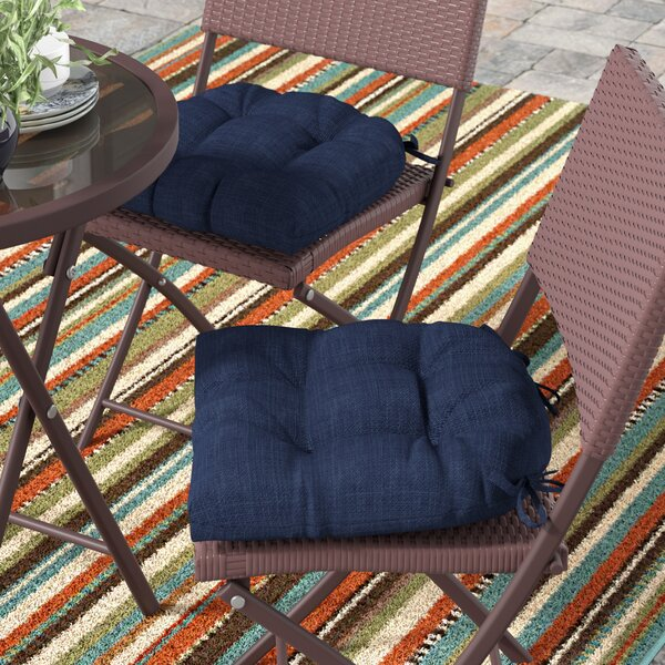 Indoor/Outdoor Lounge Chair Cushion (Set of 2) by Andover Mills