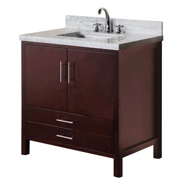 California 36 Single Bathroom Vanity Set by Kitchen Bath Collection
