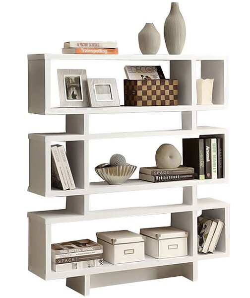 Cube Unit Bookcase by Monarch Specialties Inc.