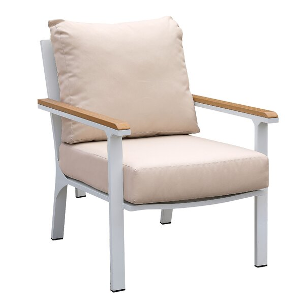 Berlin Patio Dining Chair with Cushion by Enitial Lab