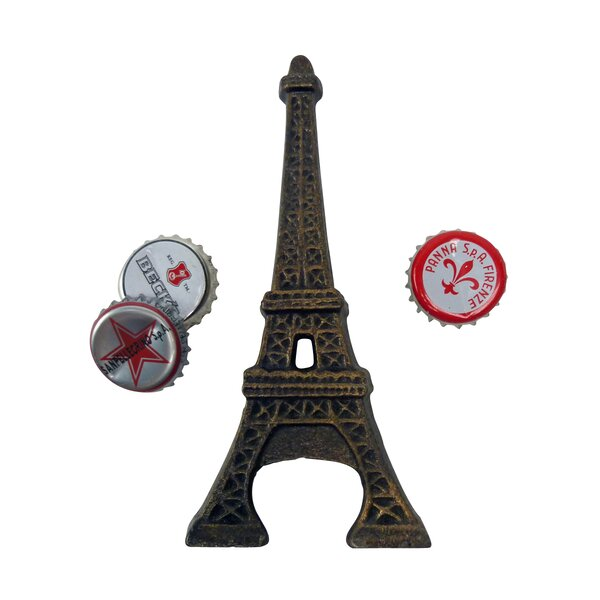 Eiffel Tower Bottle Opener by Design Toscano