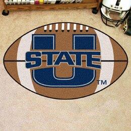 NCAA Utah State University Football Doormat by FANMATS