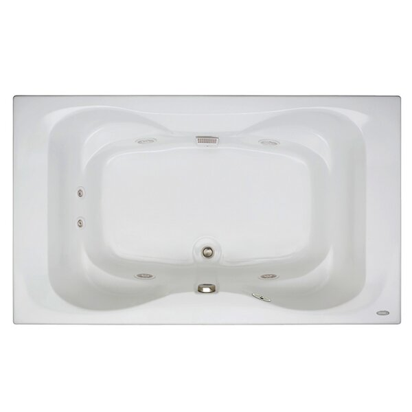 Mito 72 x 42 Drop In Whirlpool Bathtub by Jacuzzi®