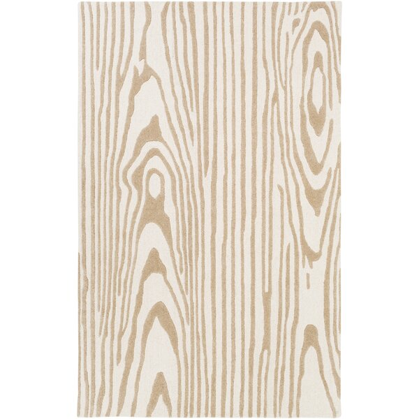 Little Italy Hand-Tufted Ivory Area Rug by Union Rustic