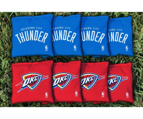 NBA Replacement Corn Filled Cornhole Bag Set by Victory Tailgate