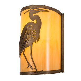 Read Reviews Lamberton Heron Outdoor Flush Mount By Bayou Breeze