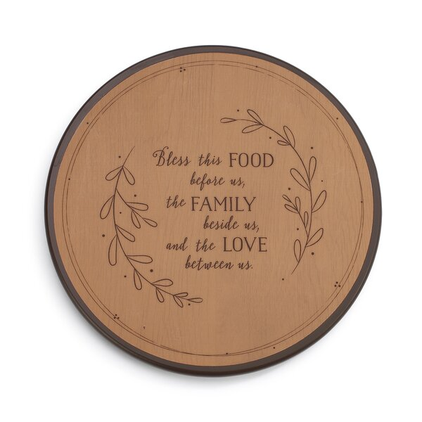 Bless This Food Lazy Susan by DEMDACO