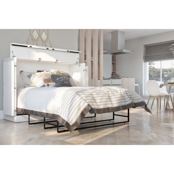 Murphy Bed with Mattress by Bestar