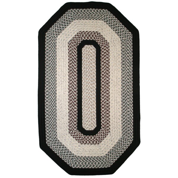 Green Mountain Onyx Granite Black Area Rug by Thorndike Mills