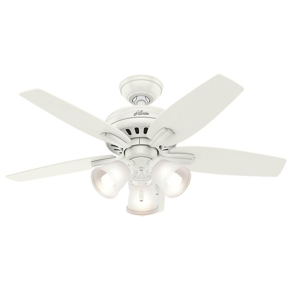 42 Newsome 5-Blade Ceiling Fan by Hunter Fan
