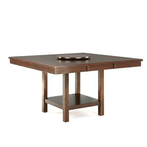 yonkers extendable dining table - Square Wood Dining Table
