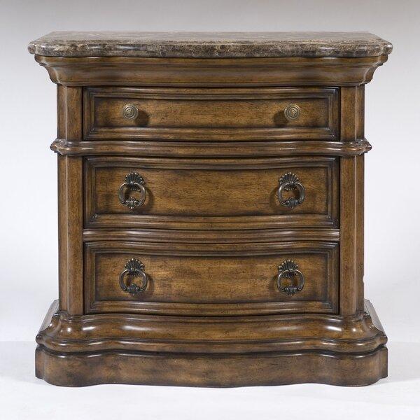 Jonesville 3 Drawer Nightstand by Astoria Grand