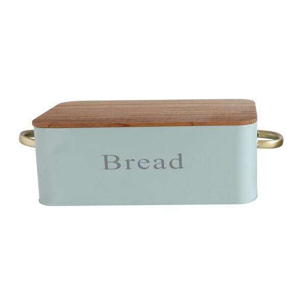 Canning Bamboo Lid Bread Box by George Oliver