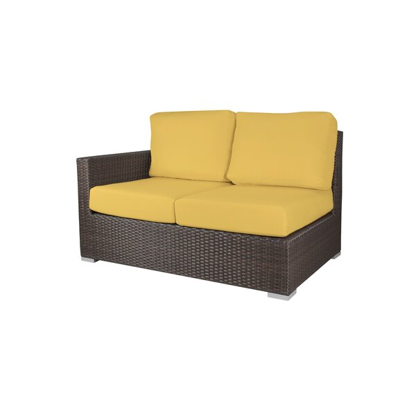 4 Piece Sectional Seating Group with Cushions by Brayden Studio