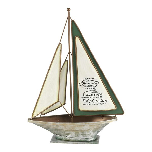 Willbanks Tabletop Accent Model Sailboat by Breakwater Bay