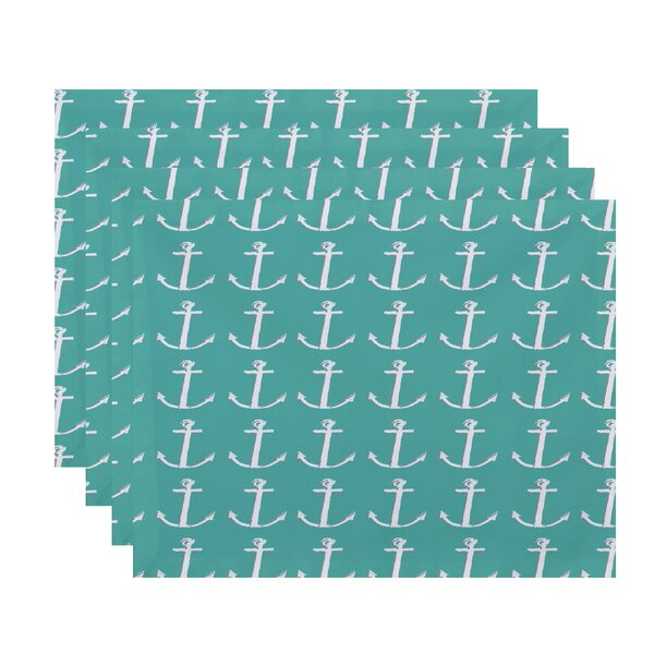 Callahan Coastal Placemat (Set of 4) by Beachcrest Home
