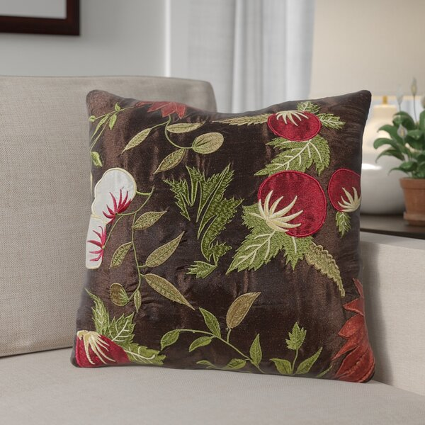 Armentrout Floral Throw Pillow (Set of 2) by Andover Mills
