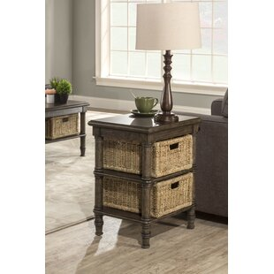 Searching for Holst End Table With Baskets By Highland Dunes